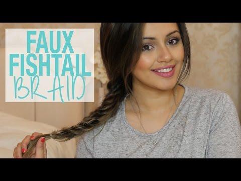 Hair Tutorial | Faux Fishtail Braid Tutorial | Kaushal Beauty