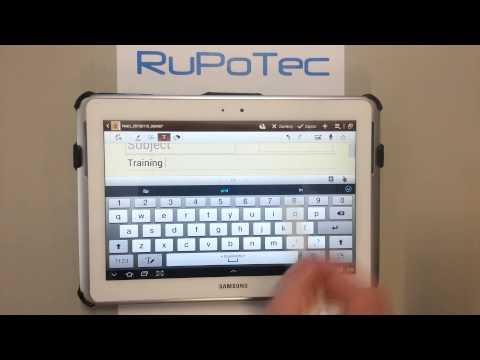 Jak wyłączyć przewidywanie tekstu na Samsung Galaxy Note 10.1