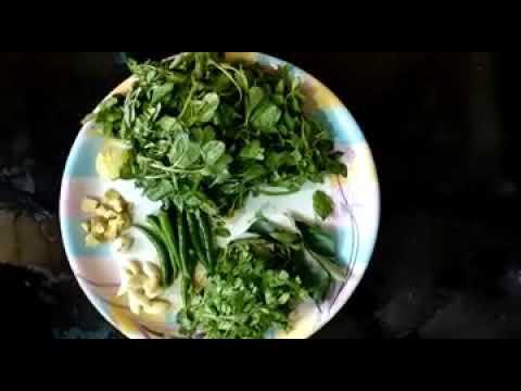 पुदीना चटणी - Mint Chutney ,pudina Chutney in  Marathi