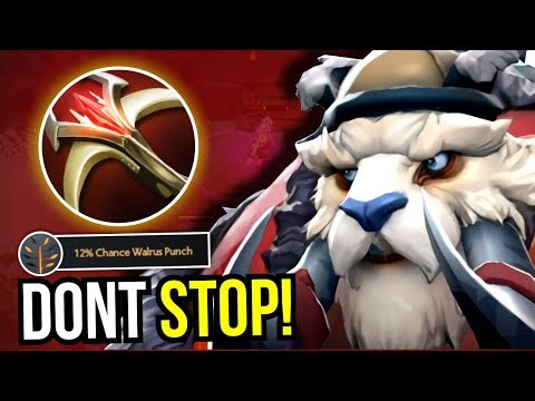 WALRUS PUNCH EVERYTIME - Tusk Carry Build 7.08 Dota 2 | Upside Down 38