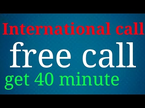 how to get 40 minutes International call