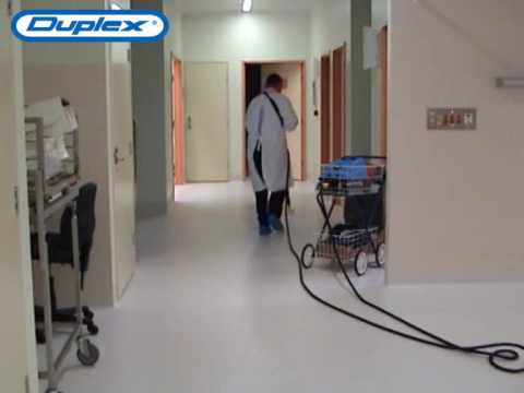How to Clean & Sanitize Hospital Floors with Steam Mop