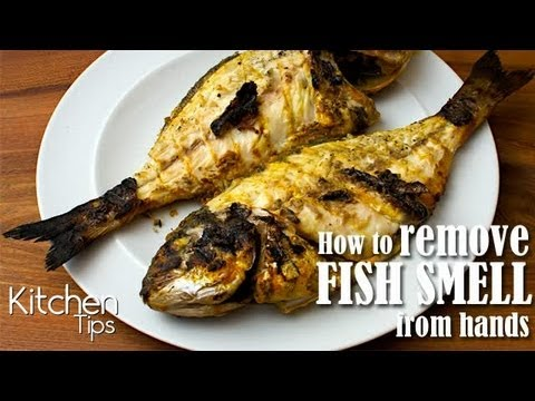 How to remove fish smell from hands