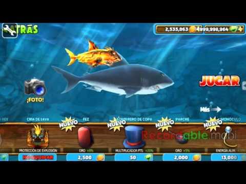 Hack Hungry  Shark y más con Game Hacker