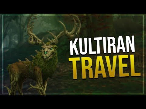 Kul Tiran Druid Travel Form   In-game Preview   Battle for Azeroth!