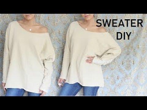 HOW TO SEW: Easy Sweater DIY DAMAV425