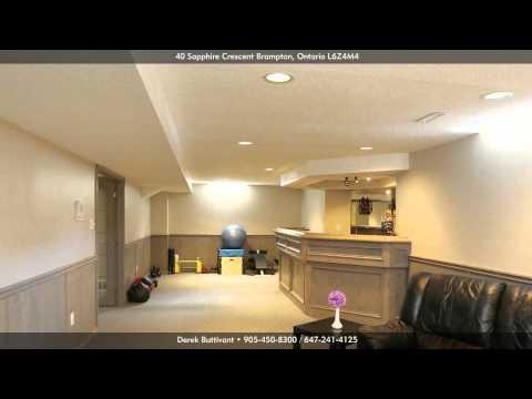 40 Sapphire Crescent, Brampton L6Z4M4, Ontario - Virtual Tour