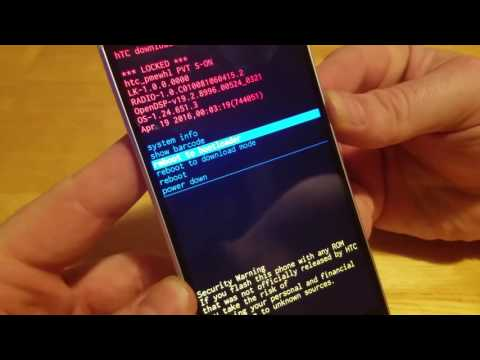 HTC 10 Hard Reset / Factory Reset