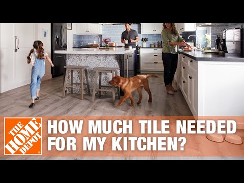 How Much Tile Do I Need for My Kitchen?