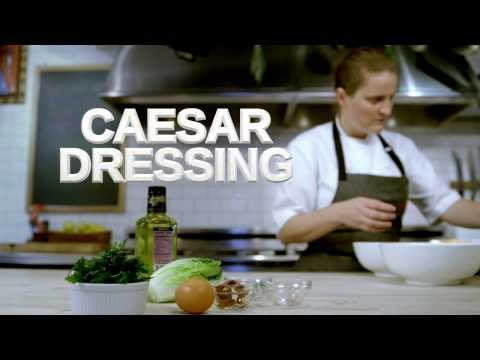Breville Presents Caesar Dressing - Mind of a Chef Techniques with April Bloomfield