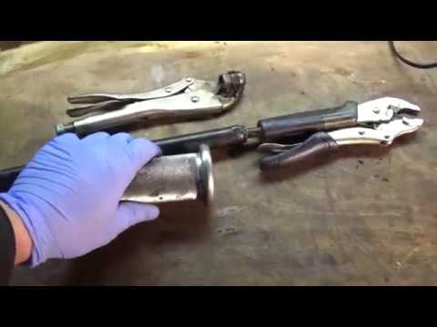 2005 Ford F150  lower power steering hose replacement tip