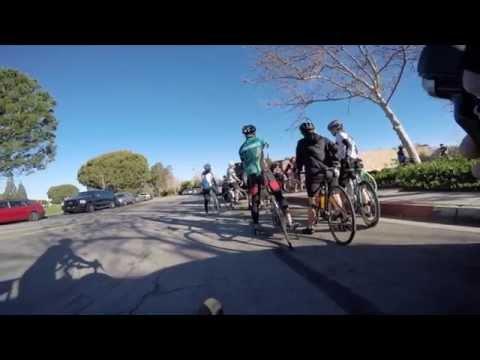 GoPro Bike Video at Santa Ana River Trail in Orange, California