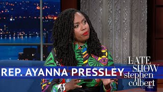 Rep. Ayanna Pressley Will Only Refer To Trump As