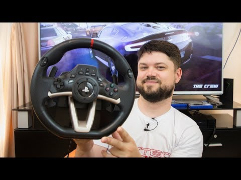 Лучший руль-пад? GTA V на руле?! Обзор Hori Racing Wheel Apex (PC/PS4/PS3)