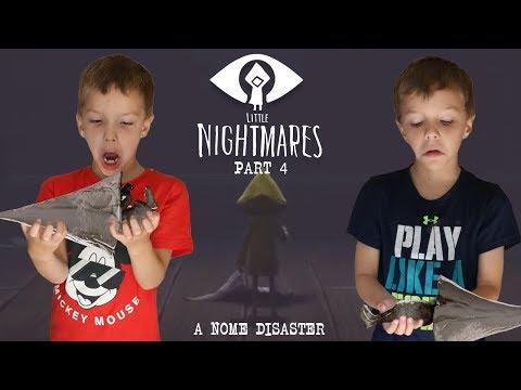 Gnomes Taste SOOOO Good! Little Nightmares Part 4 Twin Toys Kids Jumpscare