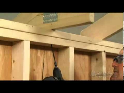 FastenMaster TimberLOK - Attaching Rafter or Truss to Top plate