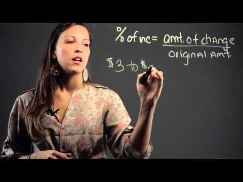 How to Solve Percent of Increase & Decrease Math Problems : Math Education