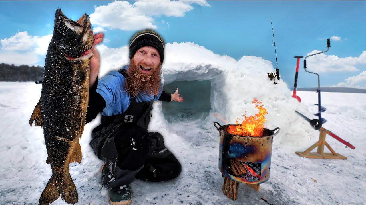 -22C Winter Tundra Survival Challenge in SNOW IGLOO (NO Food, NO Water, NO Shelter!)