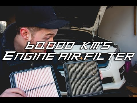 How to Replace Install Cabin Air Filter 2016 2018 Subaru WRX / STi