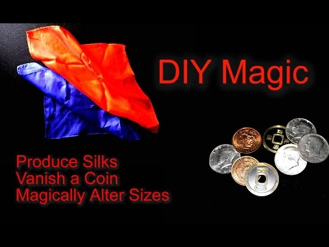 Learn Three DIY Magic Tricks