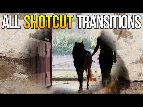 All Transitions in Shotcut Video Editor