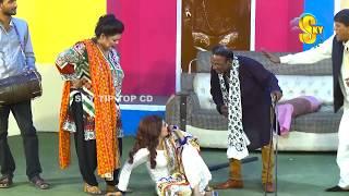 Lucky Dear with Waseem Punu and Saqi Khan New Stage Drama Phul Jhariyan Full Comedy Clip 2019