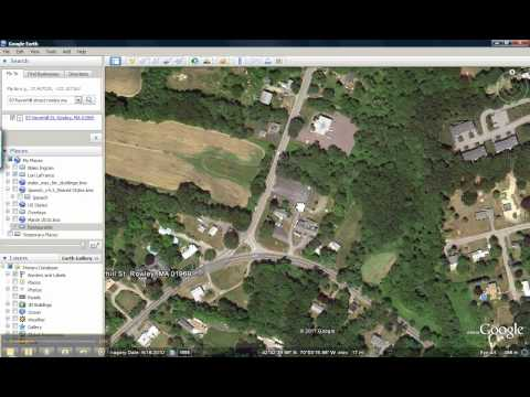 creating pushpins in Google Earth
