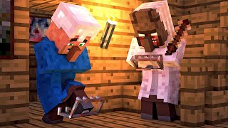 Granny vs Villager Life 6 - Granny Horror Game Minecraft Animation