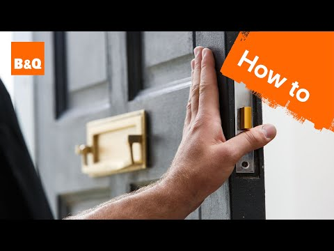 How to change a mortice lock