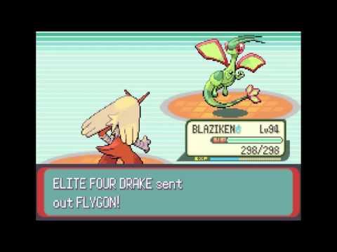 Pokemon Emerald | Elite Four - Drake