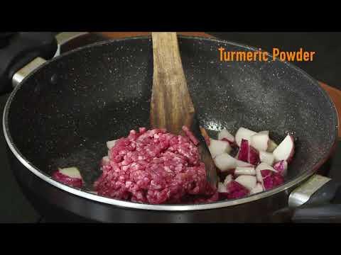 Turnip Tho Liver Kheema Curry