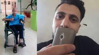 محمود شراب يحقق امنية طفل مصاب بالسرطان  .. فماذا كانت ؟