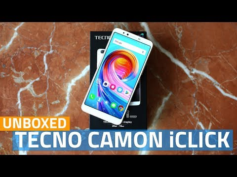 Tecno Camon iClick Unboxing & First Look | Price, Camera, Features, and More