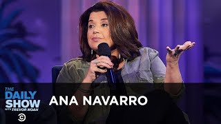 Ana Navarro - Trump's Effect on the GOP & Florida's Heated Gubernatorial Race   The Daily Show