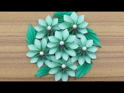 How to make a Paper Flowers Bouquet | Making Paper flower step by step (Complete Tutorial)