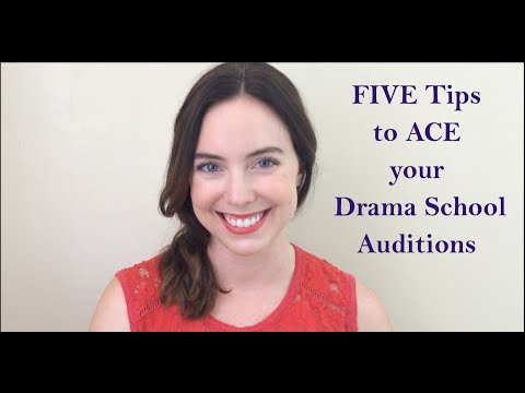 5 Tips to ACE your Drama School Audition- The Monologue Project