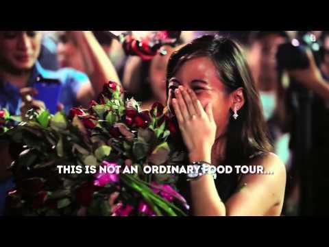 Binondo food tour wedding proposal - jella and ross