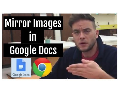Mirror Images in Google Docs