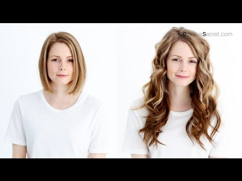 How to blend hair extensions with short thick hair