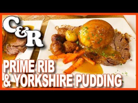 Prime Rib & Yorkshire Pudding Dinner, BEST DINNER EVER