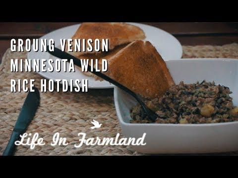 Great Ground Venison Recipe - MN Wild Rice HotDish