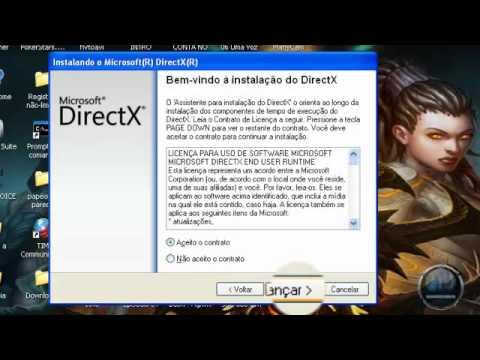 Como Atualizar o DIRECTX.