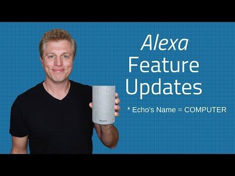 Amazon Alexa Feature Updates - Alarms, Skills, Music, List, Prime Video