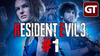 Resident Evil 3 Gameplay German #1 - Let's Play RE3 Remake 2020 PS4