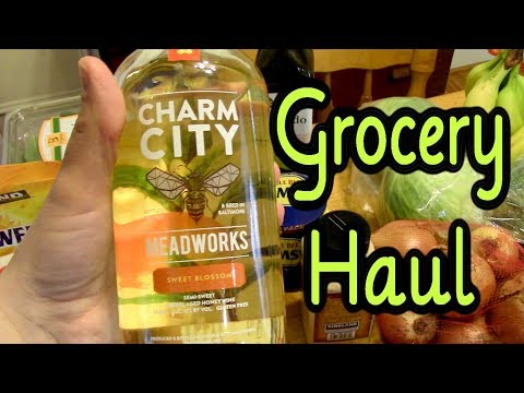 Grocery Haul Costco and H-mart - February 28, 2018