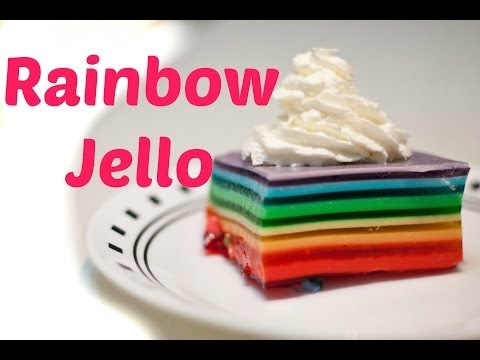How To Make Rainbow Jello!