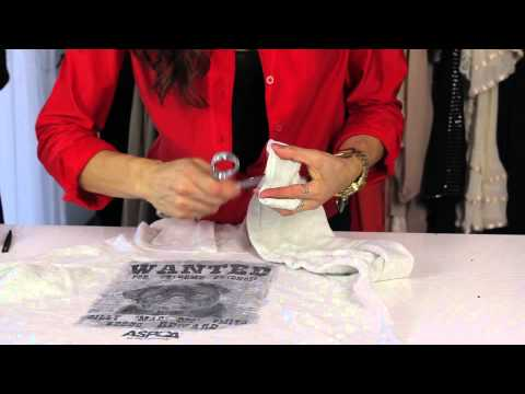 How to Cut Sweatshirts to Make Them Look Vintage : Style Savvy