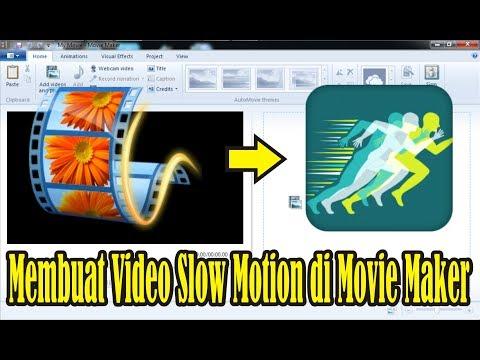 【Tutorial】 Cara Membuat Video Slow Motion di Movie Maker 2012 • Simple News Video