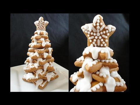 Gingerbread Cookie 3-D Christmas Tree