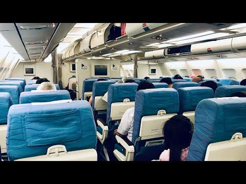 TRIP REPORT | Philippine Airlines | PR1861 Manila-Cebu | Airbus A340-300 | Economy Class